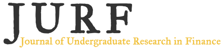 Journal of Undergraduate Research in Finance